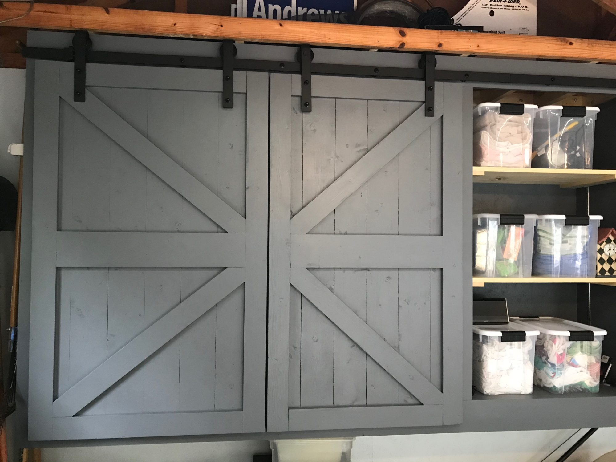 How To Build Modern Garage Storage Shelves Diy Everyday Man